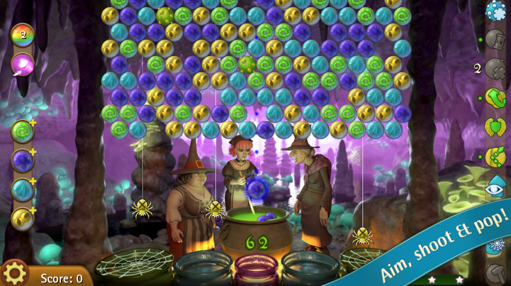 Bubble Witch Saga app