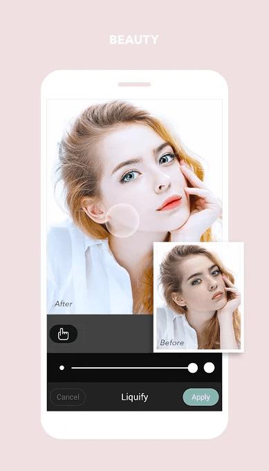 Cymera Camera app