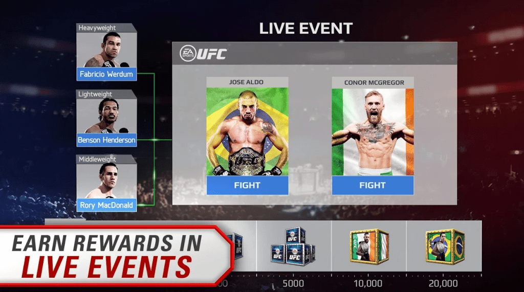 EA SPORTS UFC app