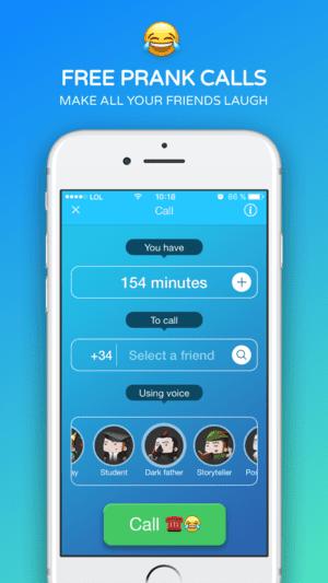 Funny Call app