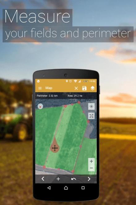 GPS Fields Area Measure app