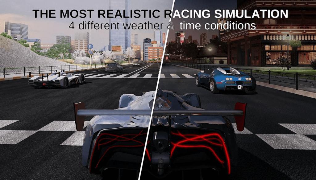 GT Racing 2 app