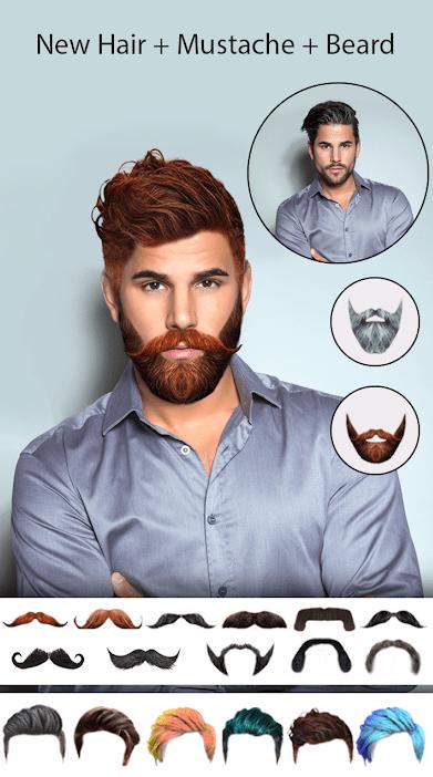 Man Hair Mustache Style PRO app