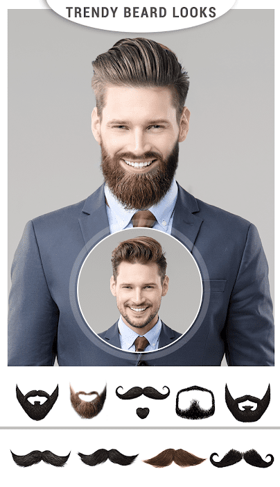 Men Mustache And Hair Styles app