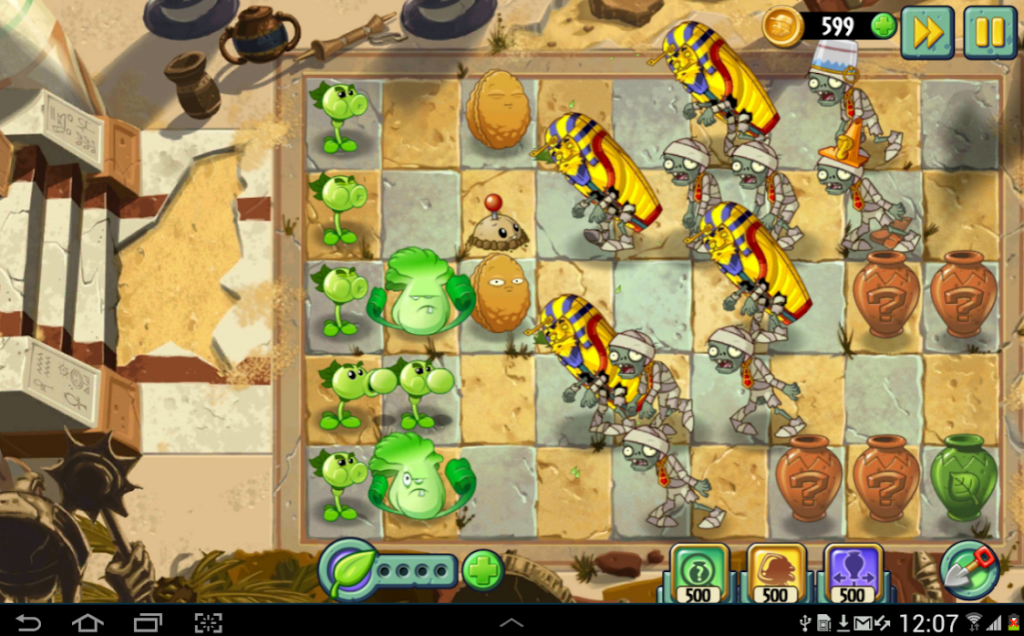Plants vs. Zombies 2 app