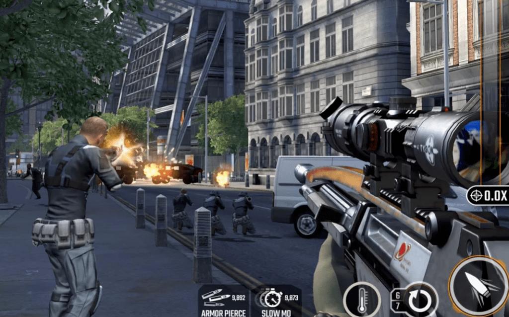 Sniper Strike app