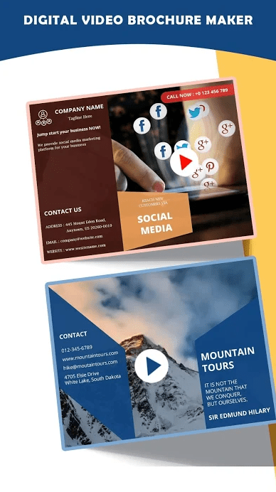 Video Brochures, Video Marketing, Branding Videos