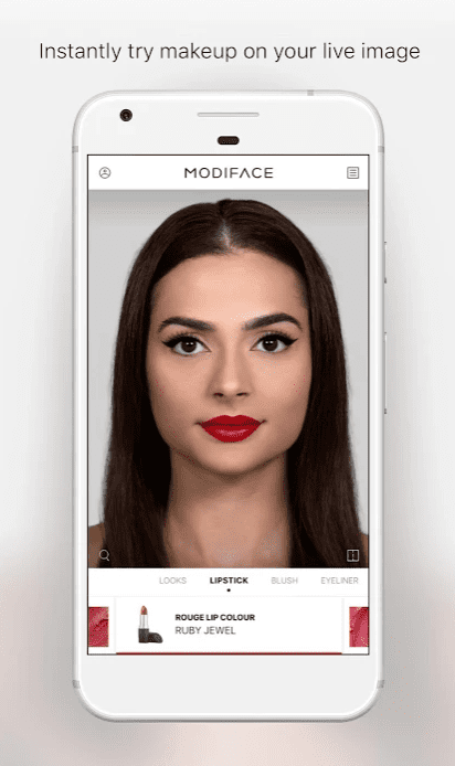 Virtual MakeUp by ModiFace