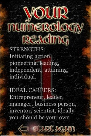 A FREE Numerology Reading app