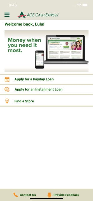 ACE Cash Express Mobile Loans