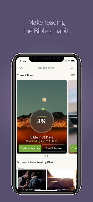 Bible by Olive Tree app