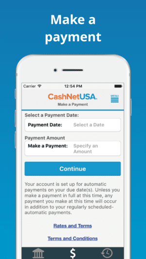 CashNetUSA app