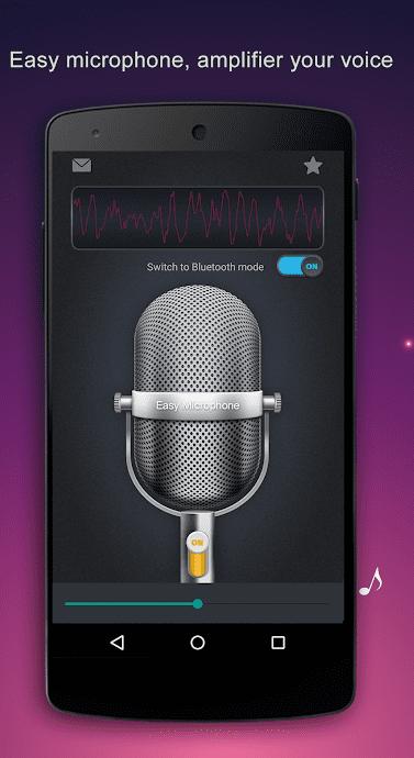 Easy Microphone app