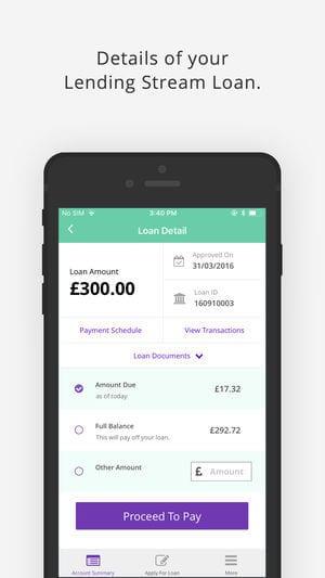 Lending Stream app