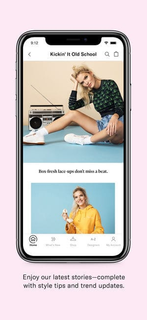 Shopbop app