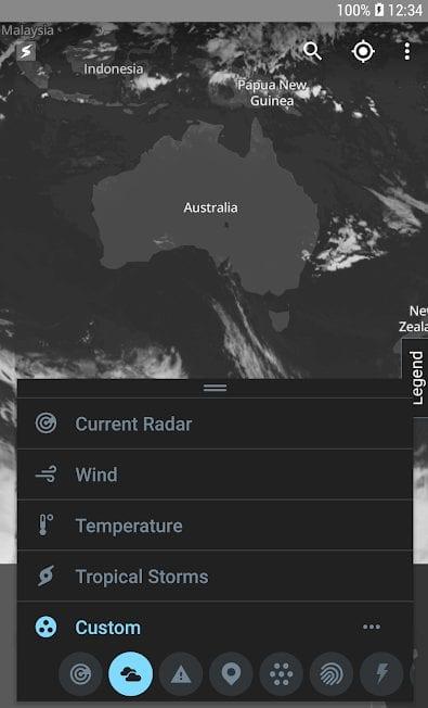 Storm Radar app