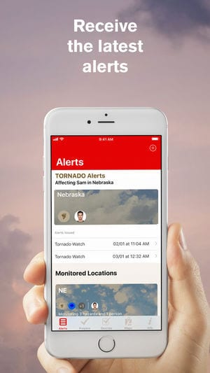 Tornado - American Red Cross app