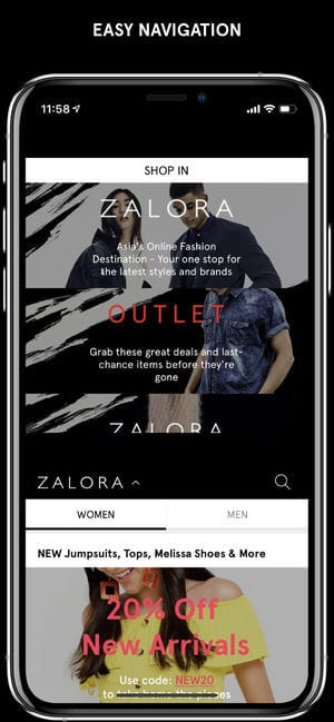 ZALORA Fashion Shopping