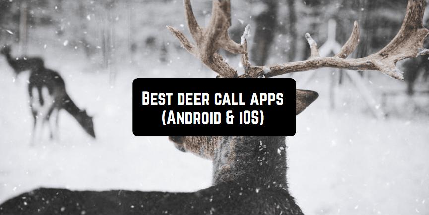 best deer call apps