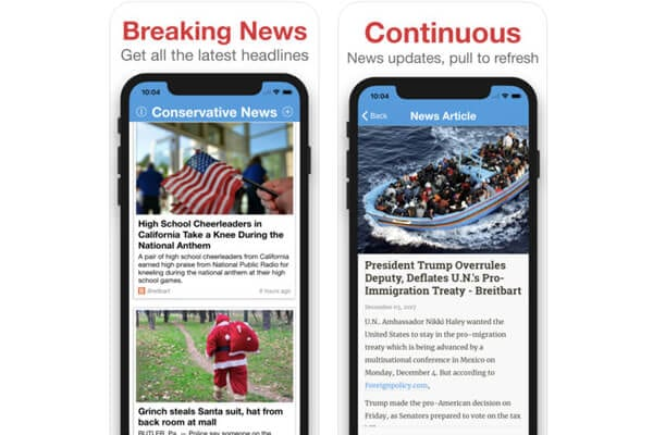 conservative news ios
