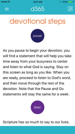 d365 Daily Devotionals app