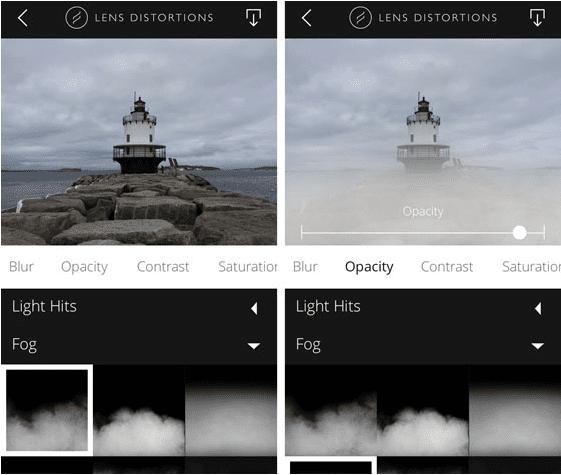 lens distortions app