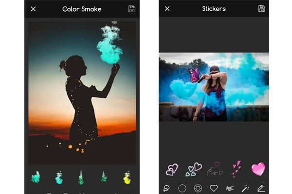 7 Best smoke effect apps (Android & iOS) | Free apps for Android and iOS