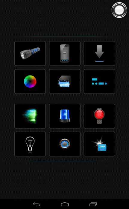 torch - tiny flashlight app