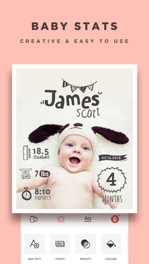 Baby Photo Editor & Pics Story
