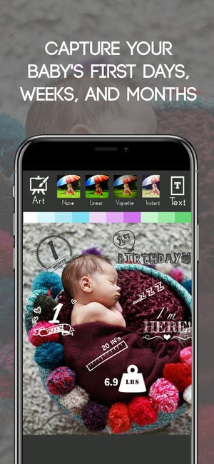 Baby Photo Editor Sticker Pics app