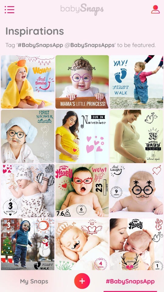 Baby Snaps Pics & Photo Editor app