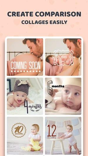 Baby Sticker- Track Milestones app