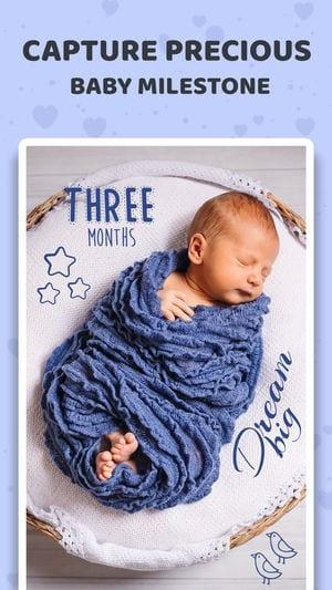 Baby Sticker- Track Milestones