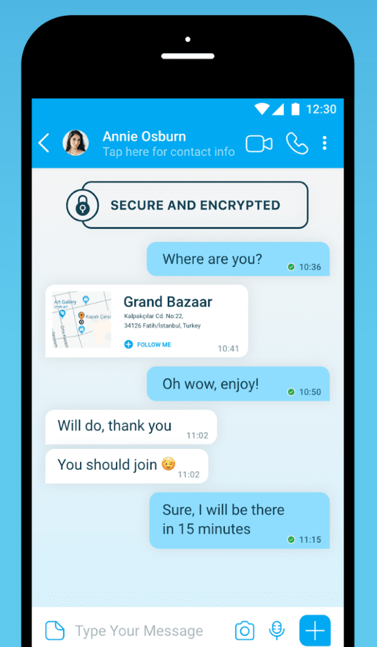 BiP Messenger app review