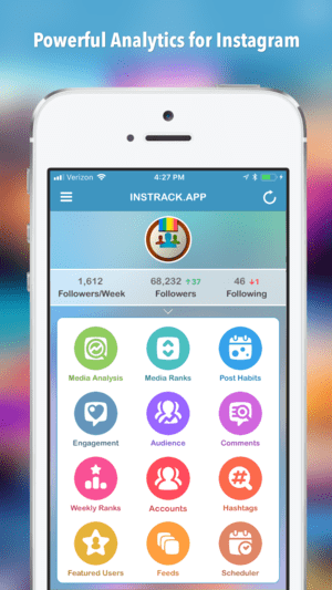 InsTrack for Instagram app