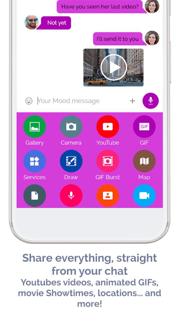 Mood Messenger app review