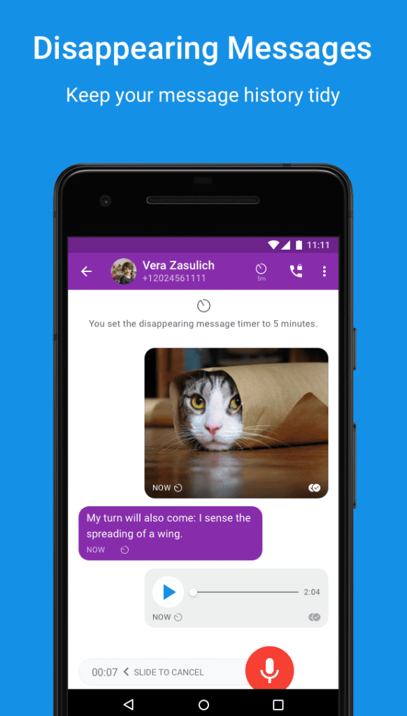 Signal Private Messenger app review