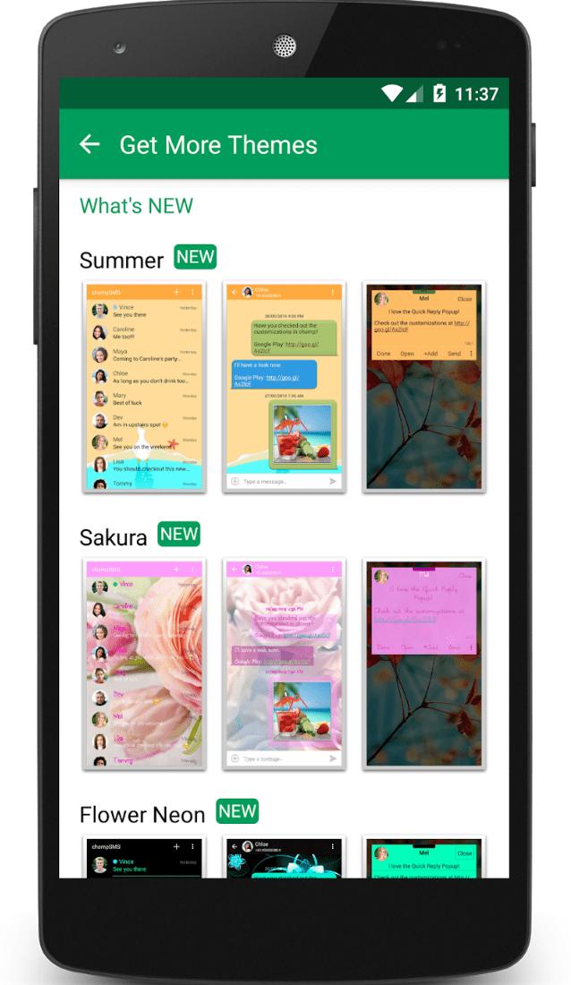 chomp SMS app review