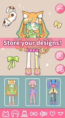 Cute Girl Avatar Maker - Cute Avatar Creator Game