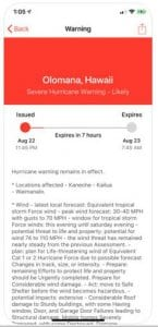 My Hurricane Tracker - Tornado Alerts & Warnings