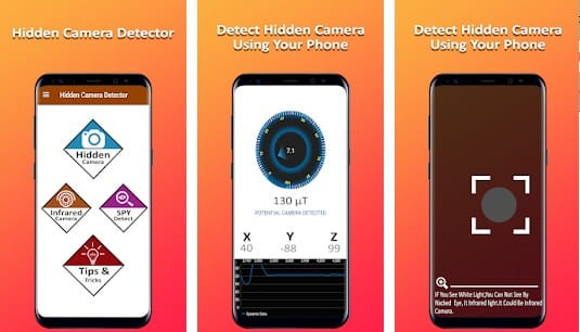 Hidden Camera Detector Spy Camera Detector