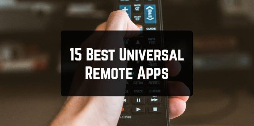 15 Best Universal Remote Apps