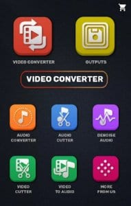 Video Converter MP4, 3GP Cutter Trimmer