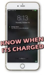 Charge Alarm
