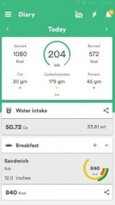 Health & Fitness Tracker with Calorie Counter