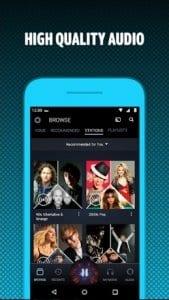 Amazon Music screen