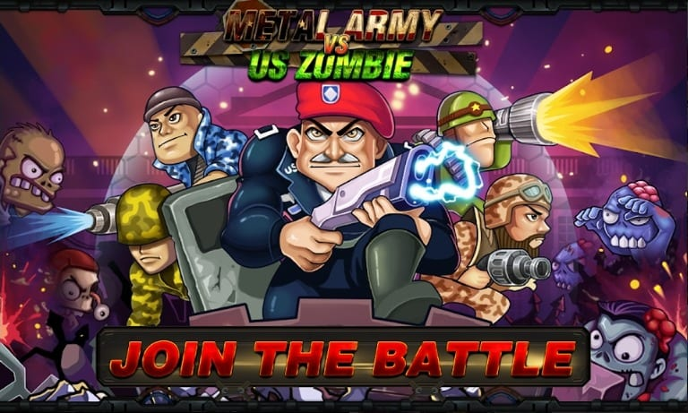 Army vs Zombies screen