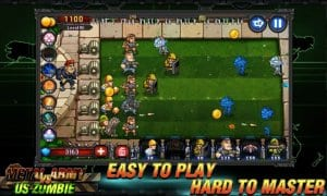 Army vs Zombies screen1