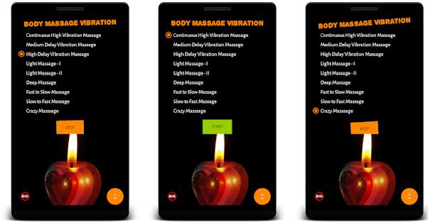 Body Massage Vibration