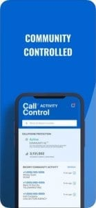 Call Control screen